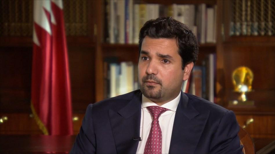 السفير القطري في واشنطن الشيخ مشعل بن حمد آل ثاني